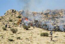 Photo of مراتع روستای «کونیک» در ابهر بار دیگر طعمه حریق شد