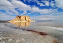 Photo of Уменьшение количества осадков отразилась на объеме воды озера Урмия