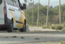 Photo of Ermənilər İTV-nin maşınına atəş açdı:avtomobil yanır