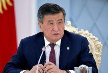 Photo of جینبکُف، رئیس جمهور قرقیزستان استعفا داد