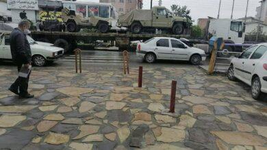 Photo of استقرار لشکر ۲۵ کربلای سپاه مازندران در مرز قرهباغ (ویدیو)