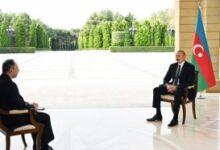"""Photo of İlham Əliyev Rusiyanın """"İnterfaks"""" agentliyinə müsahibə verdi"""