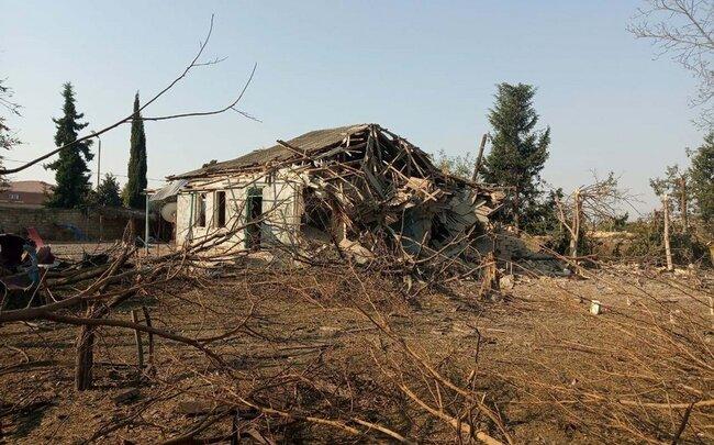 Photo of موشک سمرچ ارمنستان خانه ای را در ترتر ویران کرد