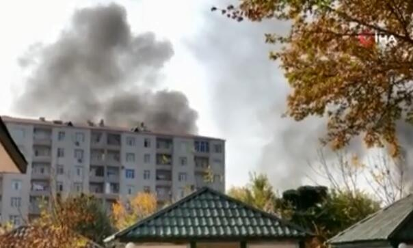 Photo of Rocket fire on Barda killed 14, wounded 40