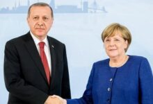Photo of Erdogan and Merkel discussed Karabakh on the phone