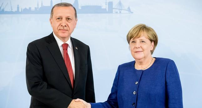 Photo of Erdogan and Merkel discussed Karabakh on the phone