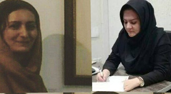 Photo of Azerbaijani women activists arrested in Iran
