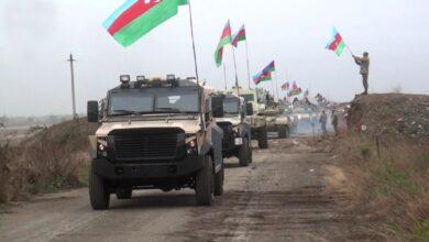 Photo of ارتش آذربایجان پرچم این کشور را در آغدام به اهتزاز در آورد (ویدیو)