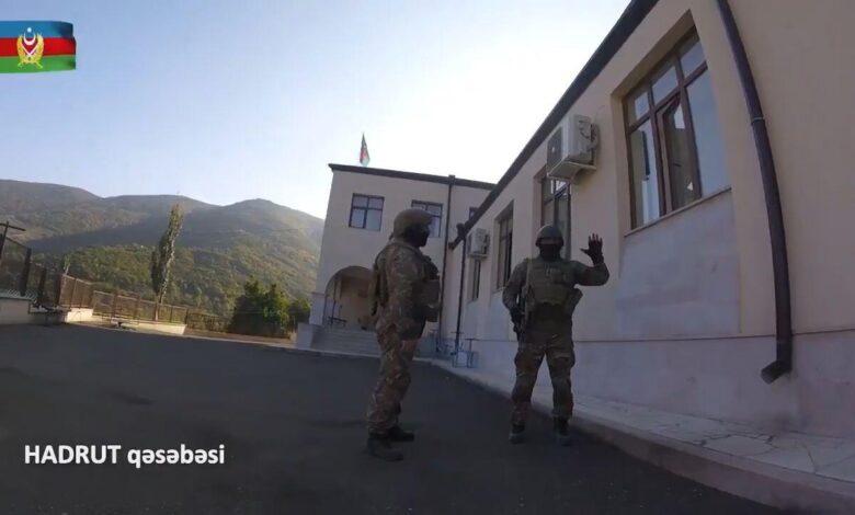 Photo of اداره پلیس خوجاوند در آغ اوغلان (هادروت) مستقر شد