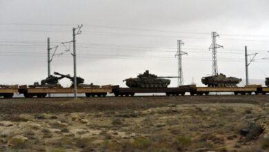 Photo of صدها تجهیزات نظامی به غنیمت گرفته شده از نیروهای ارمنستان با قطار به باکو منتقل می شود